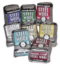 Steel Wool Eight Pad Poly Packs
